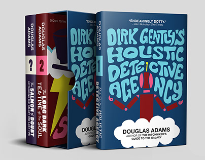 Dirk Gently Series (Book Covers, 2018)