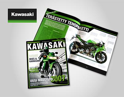 Customer magazine, Kawasaki