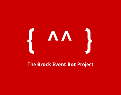The Brock Event Bot Project