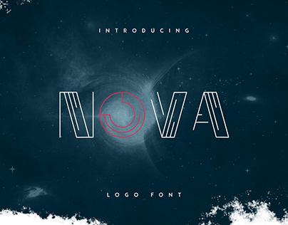 Nova logo font - Free Font