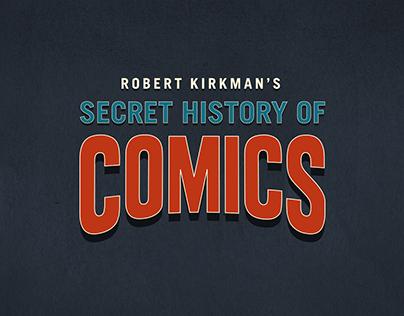 Secret History of Comics Logo Design