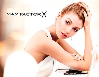 Max Factor - Site Redesign (2016)