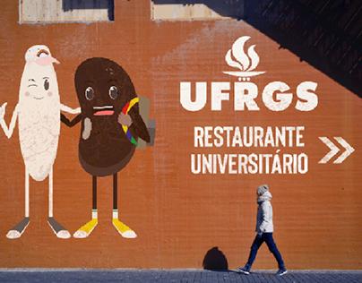 Mascote do Restaurante Universitário da UFRGS
