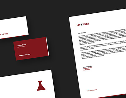 My Wine Identity Design