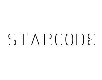 StarCode typographie