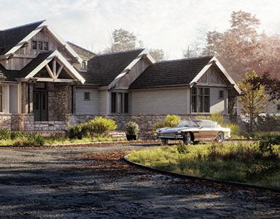 Classic American Residence
