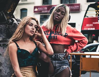 Editorial Fashion Shoot in Gran Via