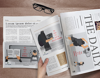 Disability Ad Campaign - Newspaper