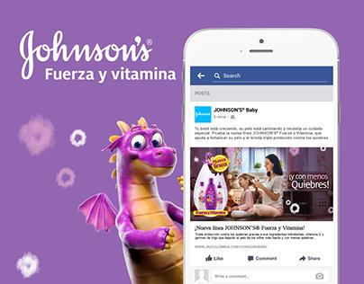 Jonson's FUERZA Y VITAMINA Campaign
