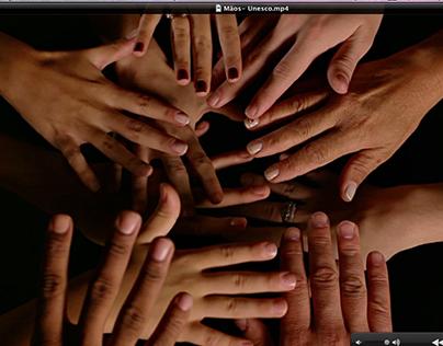 Mãos- Unesco