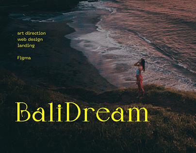 Bali Dream — landing