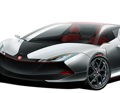Kitsune Honda Light Car On Behance