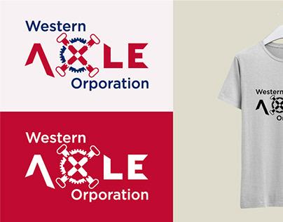 Western Axle Corporation Logo Design