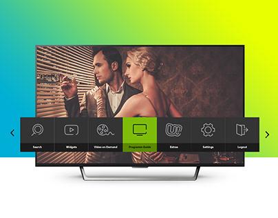Ucom IPTV UI