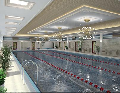 Private pool interior 2015