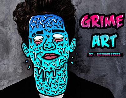 GRIME ART - CHARLIE PUTH