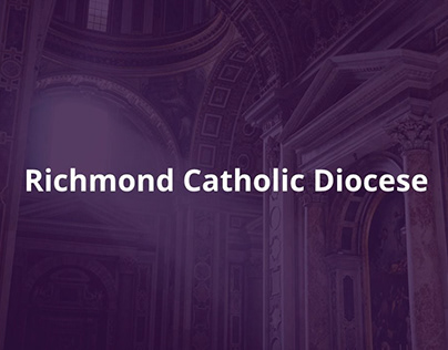 Richmond Catholic Diocese Website Redesign
