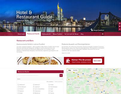 Hotel- & Restaurantguide Frankfurt