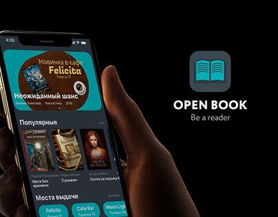Open Book — cross booking mobile app design