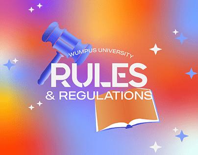 Rules & Regulations | Wumpus University Discord Server