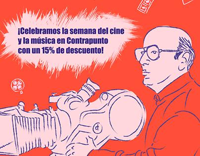 Campaña día del cine y música