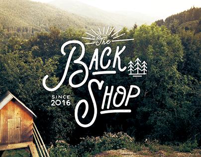 The Back Shop Identity