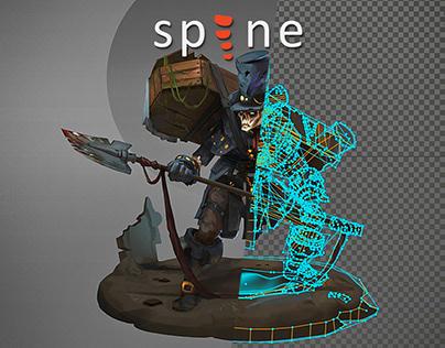 Gravedigger Idle (Spine 2D)