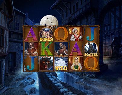 """Online slot game - """"Werewolf"""""""