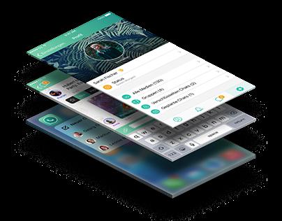 WhatsApp 2016 Redesign Concept for Computer Bild