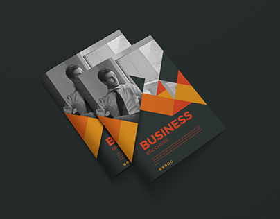 Free Letter Size Brochure Cover Mockup