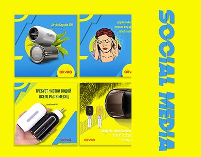 Social Media | Airvita