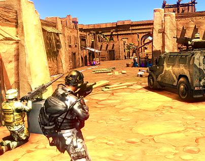 Critical Sniper Assault Shooting Arena