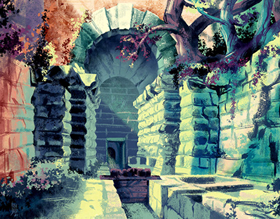 Backgrounds_digital paintings