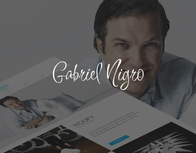 Gabriel Nigro | Re-design