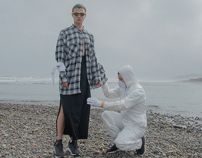 POLLUTION BEACH for sickymag.com
