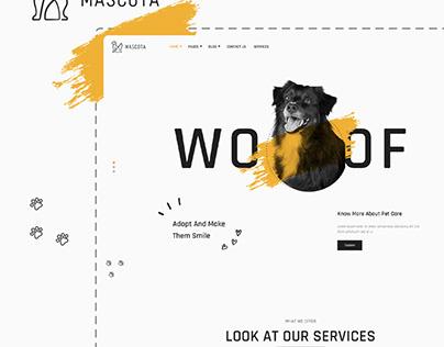 Mascota   Free WordPress Theme For Petcare