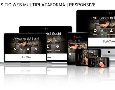 Sitio Web | RESPONSIVE: Sushitake