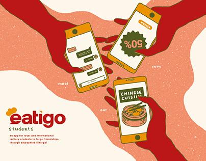 Eatigo Students - App Design