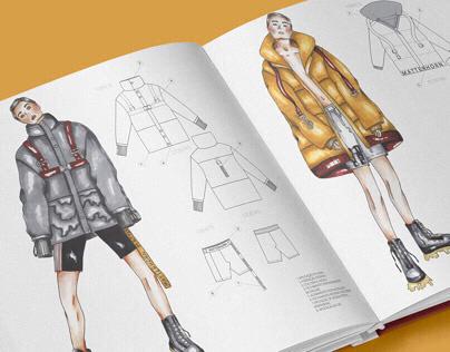 MATTERHORN COLLECTION - Fashion drawing