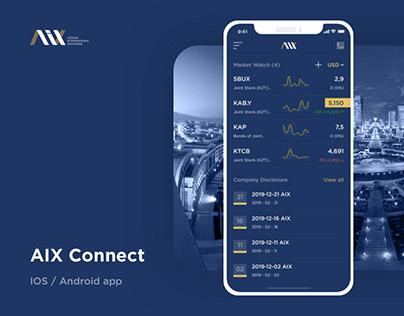 """""""AIX Connect"""" - Mobile app"""