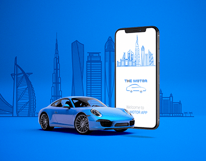 The Motor - Mobile App Promotion
