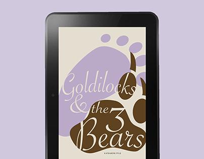 Goldilocks & the Three Bears eBook   Design Concept