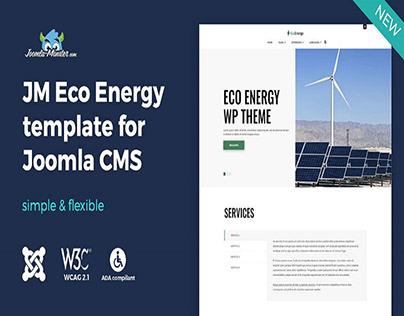 JM Eco Energy - multipurpose Joomla template