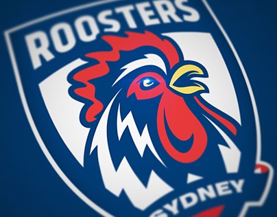 Sydney Roosters logo concept
