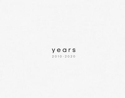 years | 2010-2020