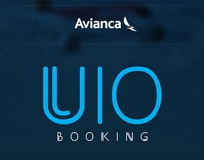 UIO Booking Avianca..