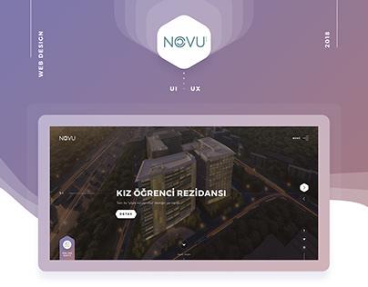 Nef - Novu - Web Design