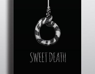 """Sweet death"" poster design"