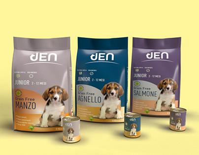 Jen pet food packaging