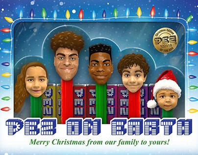 Pez On Earth - 2018 Christmas Card